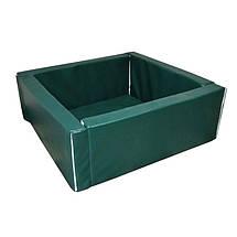 Сухой бассейн квадратный с матом 110х110 см, фото 2