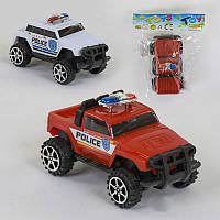 """Джип """"Полиция"""" 553-5 (1080/2) 2 цвета, инерция, 1шт в кульке"""