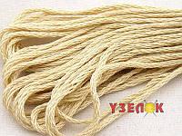 Нитки мулине Гамма (Gamma) для вышивания №0001 Cветло-бежевый
