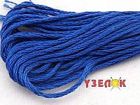 Нитки мулине Гамма (Gamma) для вышивания №0003 Васильковый