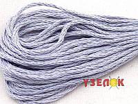 Нитки мулине Гамма (Gamma) для вышивания №0004 Светло-серый