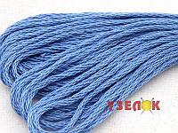Нитки мулине Гамма (Gamma) для вышивания №0005 Светло-синий