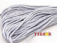 Нитки мулине Гамма (Gamma) для вышивания №0006 Светло-серый