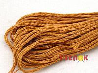 Нитки мулине Гамма (Gamma) для вышивания №0007 Светло-коричневый
