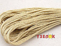 Нитки мулине Гамма (Gamma) для вышивания №0009 Светло-серо-бежевый