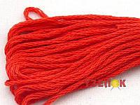 Нитки мулине Гамма (Gamma) для вышивания №0012 Алый