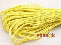 Нитки мулине Гамма (Gamma) для вышивания №0016 Светло-желтый