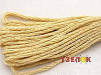 Нитки мулине Гамма (Gamma) для вышивания №0018 Бежевый