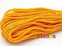 Нитки мулине Гамма (Gamma) для вышивания №0019 Светло-оранжевый