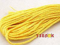 Нитки мулине Гамма (Gamma) для вышивания №0020 Розово-желтый