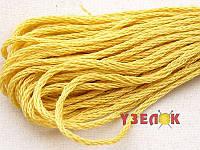 Нитки мулине Гамма (Gamma) для вышивания №0021 Светло-розово-желтый