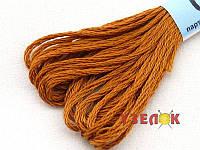 Нитки мулине Гамма (Gamma) для вышивания №0022 Светло-коричневый