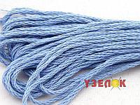Нитки мулине Гамма (Gamma) для вышивания №0023 Голубой