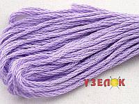Нитки мулине Гамма (Gamma) для вышивания №0076 Светло-сиреневый