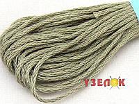 Нитки мулине Гамма (Gamma) для вышивания №0152 Серый