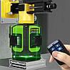 🍂《БИРЮЗОВЫЙ ЛУЧ》Лазерный уровень Fukuda MW93D 3GХ. 《МЕГА КОМПЛЕКТ》《ДИОДЫ OSRAM-50m》, фото 4