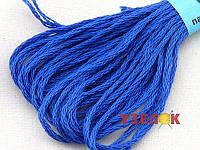 Нитки мулине Гамма (Gamma) для вышивания №0306 Васильковый