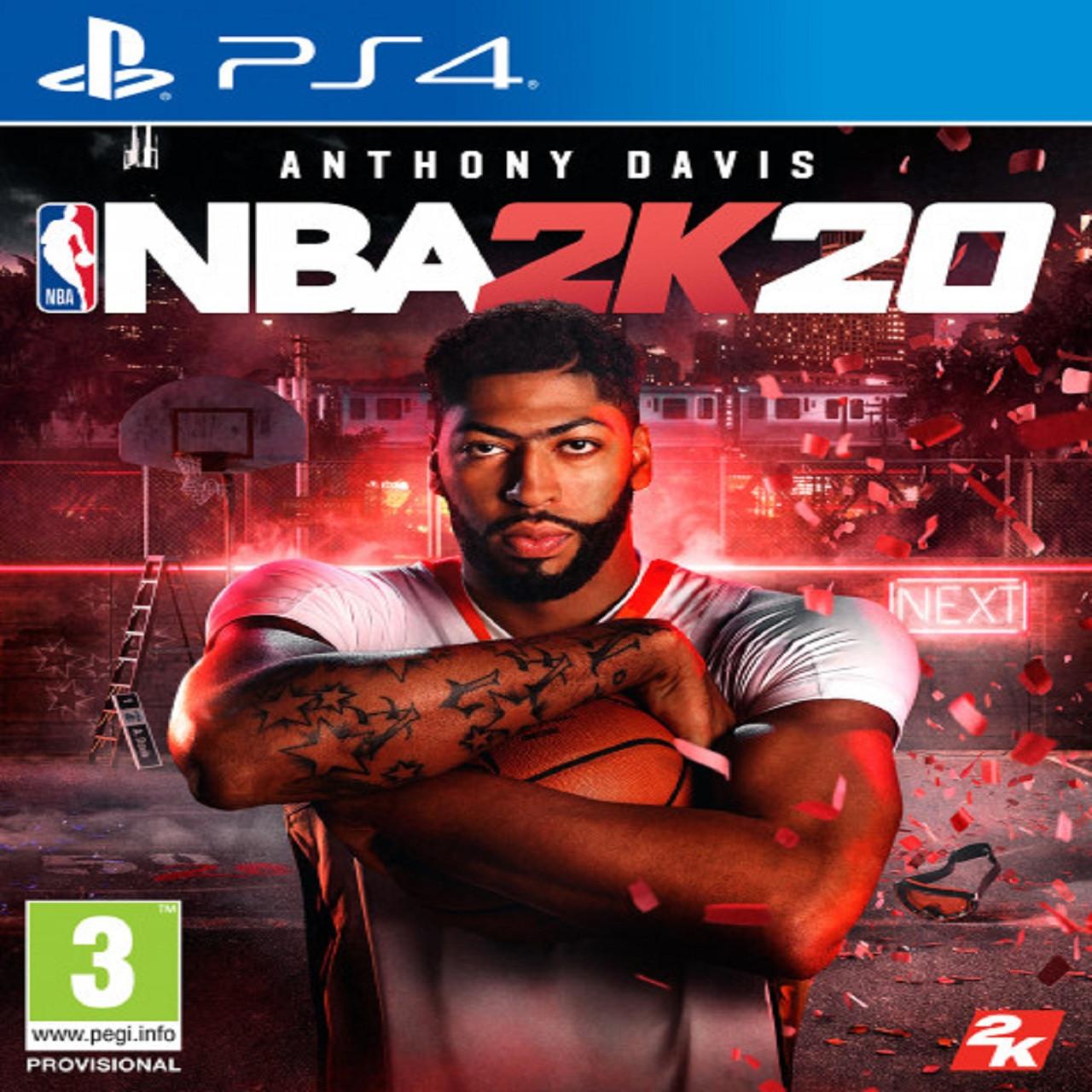 NBA 2k20 (англійська версія) PS4