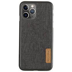 "Чехол для Apple iPhone 11 Pro Max (6.5"") G-Case Textiles Dark series, накладка"