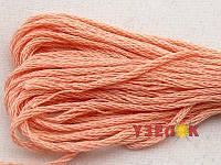 Нитки мулине Гамма (Gamma) для вышивания №0703 Персиковый