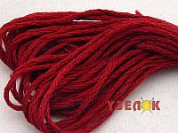 Нитки мулине Гамма (Gamma) для вышивания №0709 Темный красный