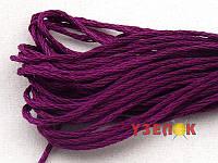 Нитки мулине Гамма (Gamma) для вышивания №0909 Темный бордовый