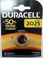 Батарейка Duracell CR 2025 (1шт)