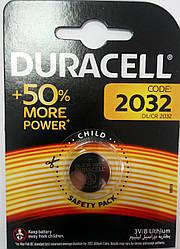 Батарейка Duracell CR 2032 (1шт)