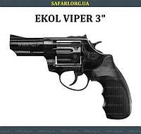 "Револьвер Ekol Viper 3"" (black), фото 1"