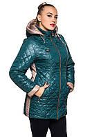 Женская зимняя куртка стеганая., фото 1