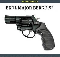 """Револьвер Ekol Major Berg 2.5"""" (черный), фото 1"""