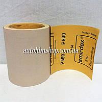 Распродажа SMIRDEX Абразивная бумага в рулонах сухая P500 1х0,15м