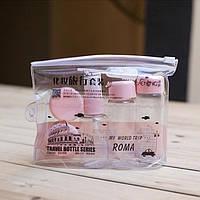 Дорожный набор баночек для косметики Бьюти, фото 1