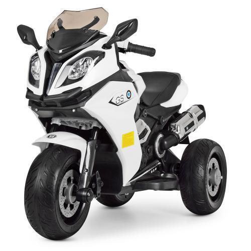 Мотоцикл детский M 3913EL-1 белый