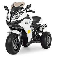 Мотоцикл детский M 3913EL-1 белый, фото 1