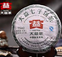 Чай Шен Пуэр Мэнхай Да И 7542 202, 2012 года, 357 г