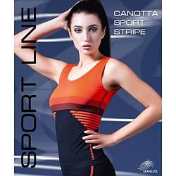 Спортивная женская майка Giulia CANOTTA SPORT STRIPE 01 skl-052