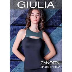 Майка жіноча еластична Giulia CANOTTA SPORT ENERGY skl-050