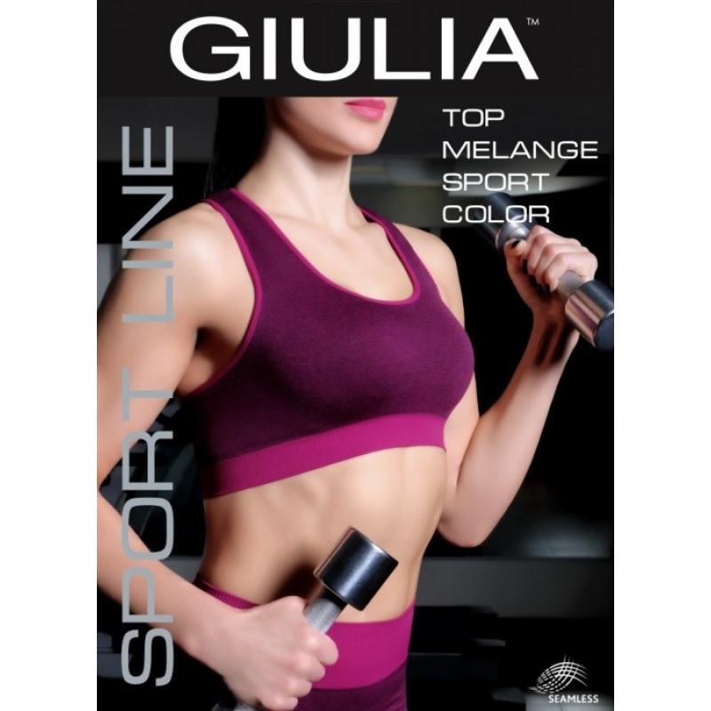 Топ женский спортивный Giulia Sport Melange skl-070