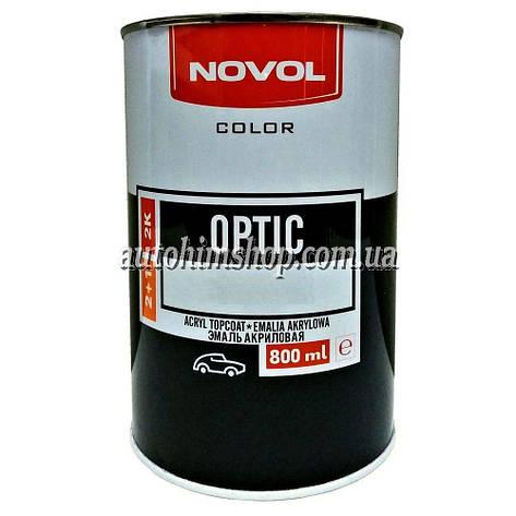 Автоэмаль 2К акриловая Novol Optic Lada 605, 106 Нарва 800 мл, фото 2