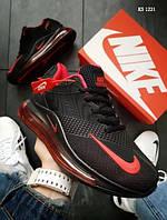 Кроссовки мужские Nike Air Max 270 (черно/красные)
