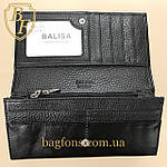 Кошелёк женский высокого качества Balisa (A4-1013B-2) разные расцветки черный, фото 8