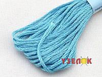 Нитки мулине Гамма (Gamma) для вышивания №3127 Бледно морская волна