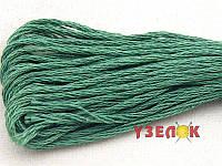 Нитки мулине Гамма (Gamma) для вышивания №3143 Серо-зеленый