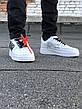 Кроссовки мужские Nike Air Force 1 белые (Top replic), фото 2