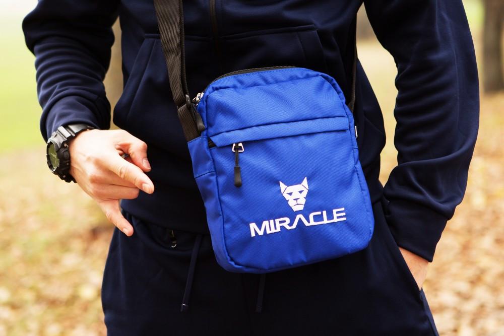 Мессенджер Miracle - Bottom blue