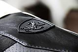Барсетка Puma leather black, фото 4