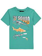 Летняя трикотажная футболка Джордж для мальчика