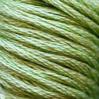 Мулине DMC (ДМС) для вышивания, №368, PistachioGreen-lt  (Фисташково-зеленый,св. )