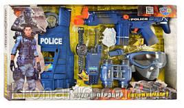 Набор полицейского 33530, жилет, рация, бинокль, автомат, в коробке